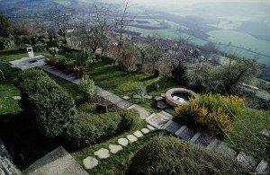 Tarn et Garonne - Lauzerte - Jardin du Pelerin -